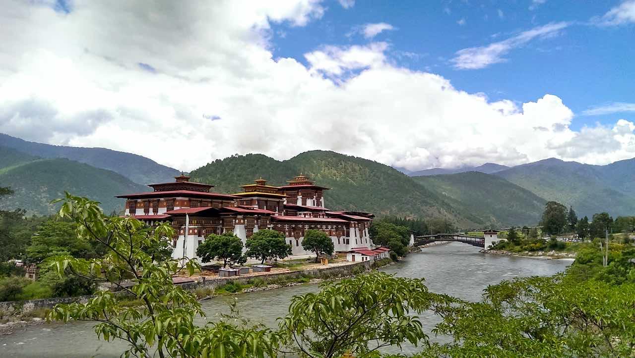 Bhutan Einreise wird vereinfacht - Punakha