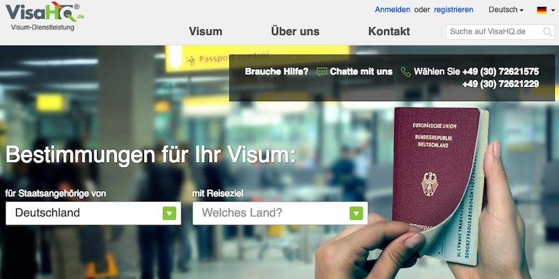 Visa Service VisaHQ