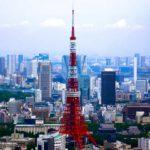 Größte Städte Tokio Skyline